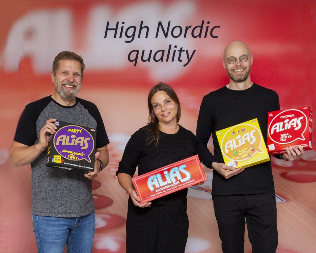 Juha Nieminen, Jemina Heljakka ja Jussi Lindberg