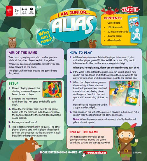 Rules, I am Alias Junior
