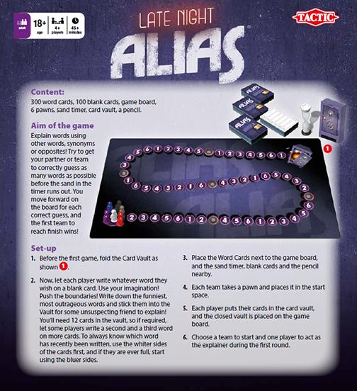 Rules, Late Night Alias